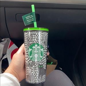Starbucks glow in the dark tumbler